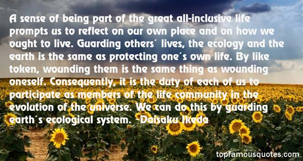Quotes About Protecting The Earth