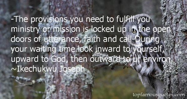 Quotes About Provision Of God