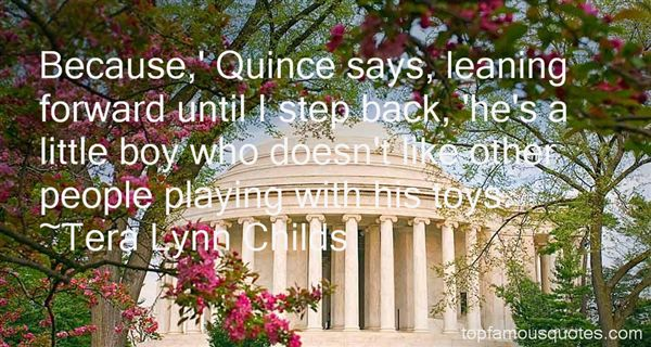 Quotes About Quince