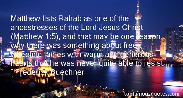 Quotes About Rahab
