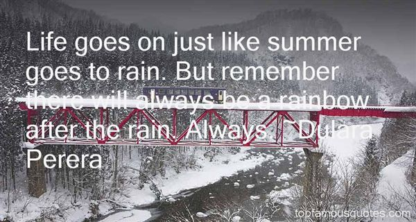 Rainbow After Rain Quote