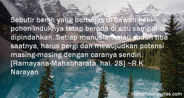Quotes About Ramayana