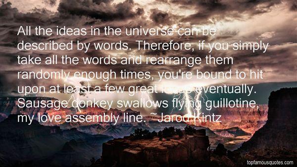 Quotes About Rearrange