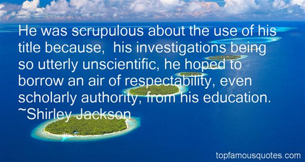Quotes About Respectability