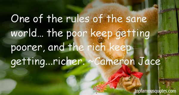 Quotes About Rich Getting Richer