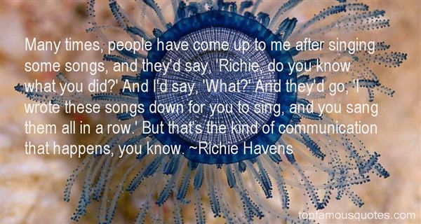 Quotes About Richie