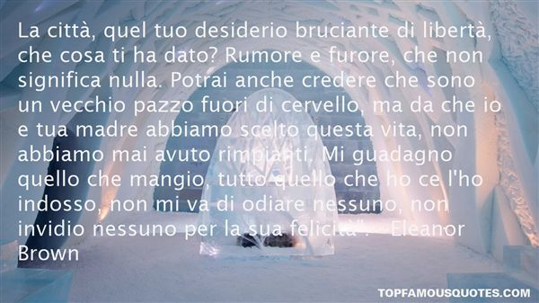 Quotes About Rumore