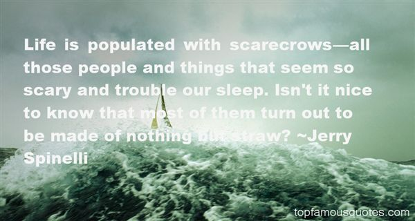 Quotes About Scarecrows