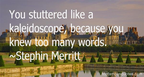 Quotes About Scope