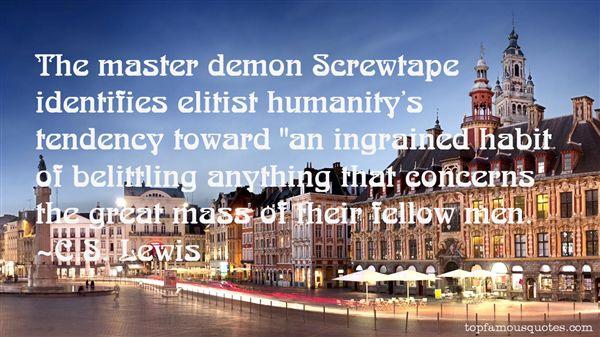 Quotes About Screwtape