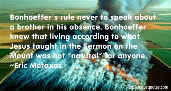 Quotes About Sermon On The Mount