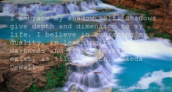 Quotes About Shadows And Light