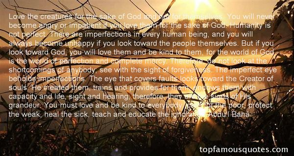 Quotes About Short Imperfections