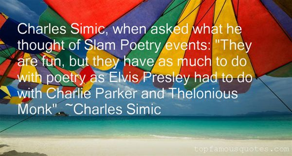 Quotes About Simic