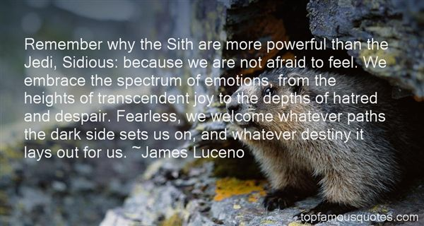 Quotes About Sith Jedi