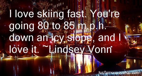 Quotes About Skiing And Love