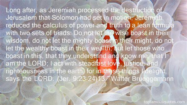 Quotes About Solomon