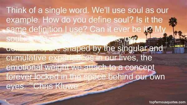 Quotes About Souls And Eyes