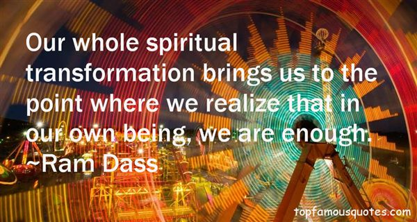 Quotes About Spiritual Formation
