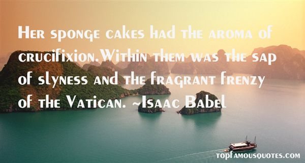Quotes About Sponge Cake