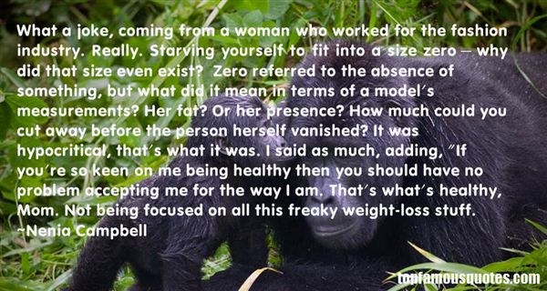 Quotes About Starving Yourself