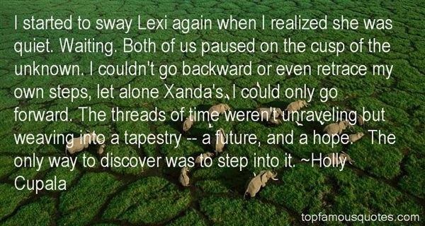 Quotes About Steps Forward
