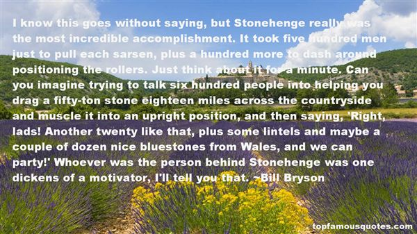 Quotes About Stonehenge