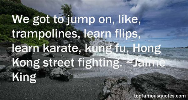 Quotes About Street Fighting