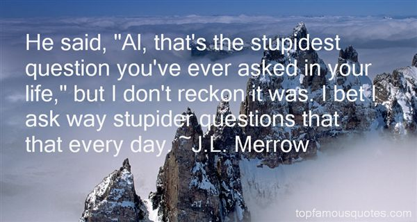 Quotes About Stupid Questions