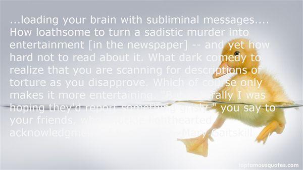understanding subliminal messages