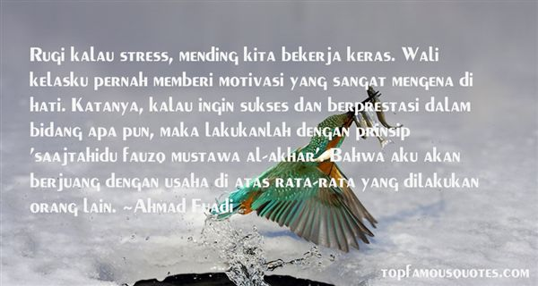 Quotes About Sukses