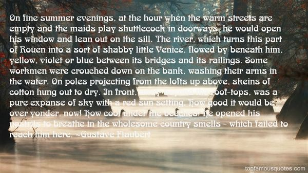 Quotes About Summer Evenings
