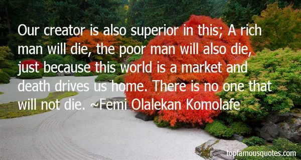 Quotes About Superior Man