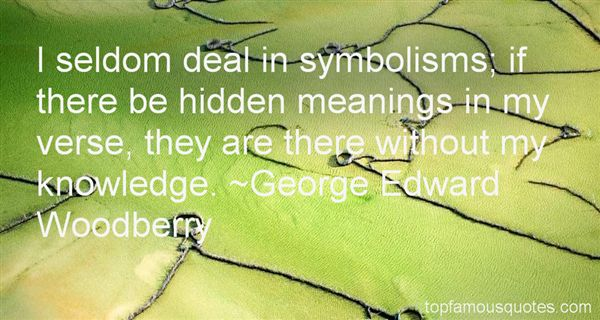 Quotes About Symbolisms