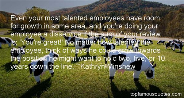 Quotes About Talented Employees