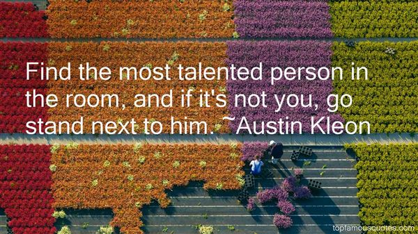 Quotes About Talented Person
