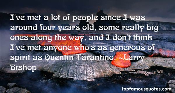 Quotes About Tarantino