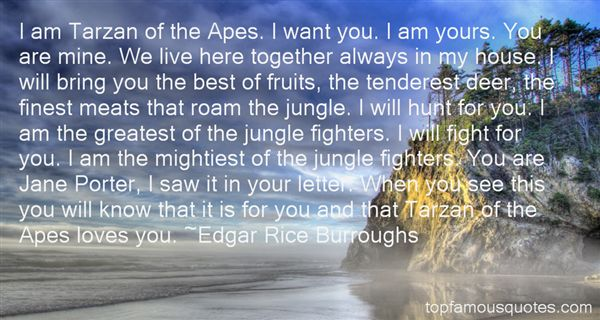 Quotes About Tarzan Love