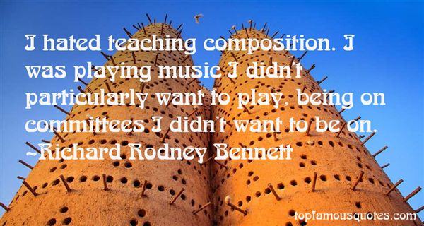 Quotes About Teaching Music