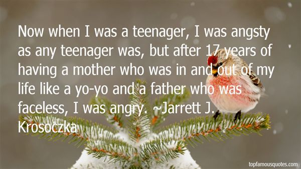 Quotes About Teenage Angst