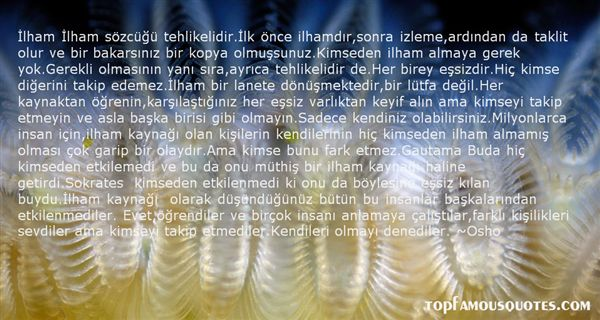 Quotes About Tehlikeli