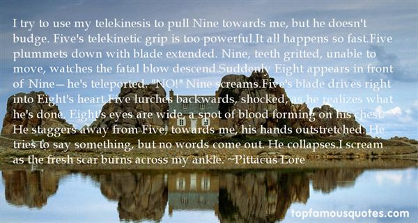 Quotes About Telekinetic