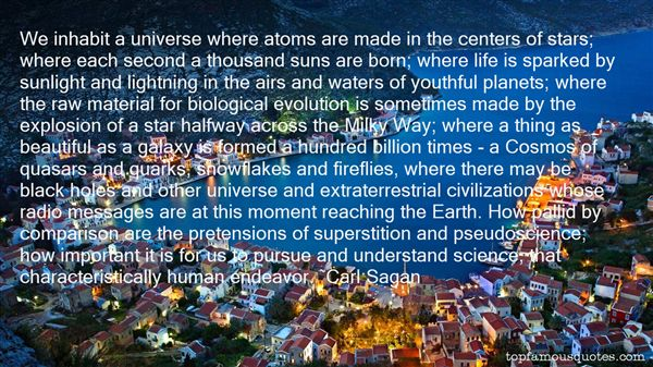 Quotes About The Milky Way Galaxy