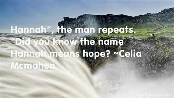 Quotes About The Name Hannah
