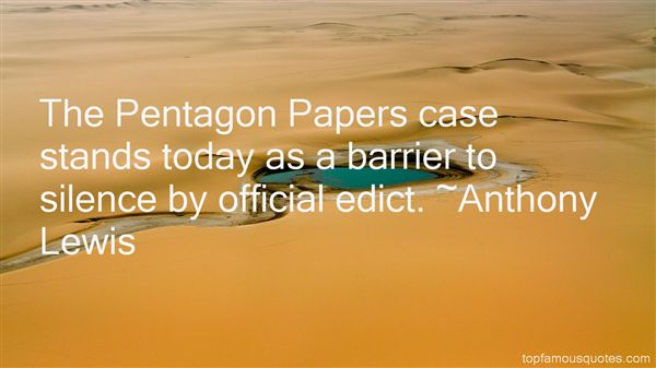 Quotes About The Pentagon Papers