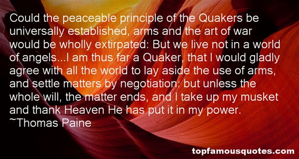 Quotes About The Principle Of The Matter