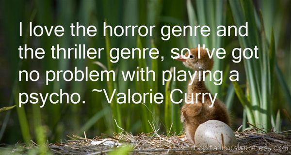 Quotes About Thriller Genre