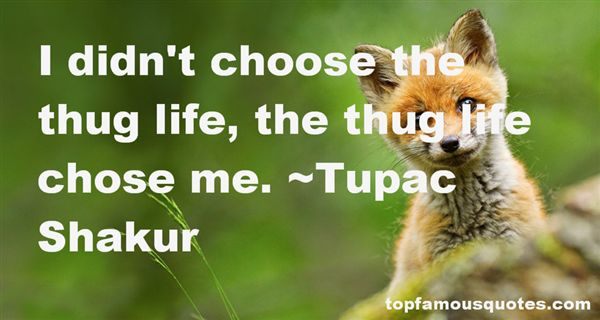 Quotes About Thug Life