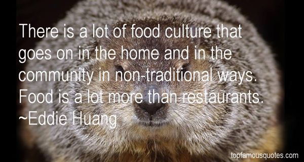 Quotes About Traditional Food