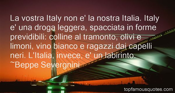 Quotes About Tramonto